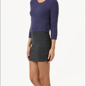 Aritzia Talula Black Gina BodyCon Skirt 6